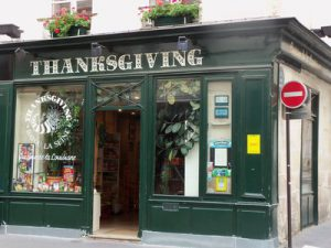 Thanksgiving Shop on the Left Bank
