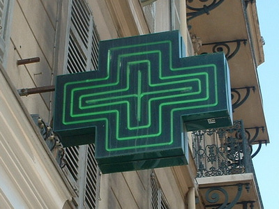 Parisian pharmacy