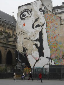 Street Art, Pompidou Center