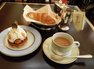 Croissant at Laduree