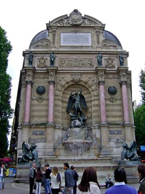 Fontaine Saint-Michel 2