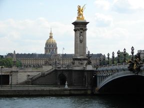 Invalides from Seine