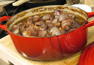 Julia Child's Boeuf Bourguignon 2