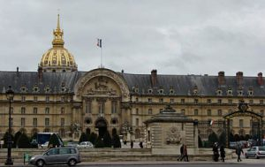 Outside of Invalides