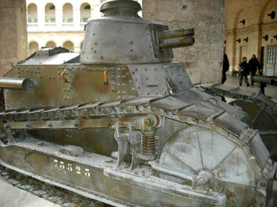 World War I tank