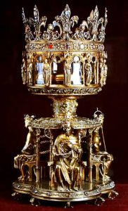 Reliquary that houses the Crown of Thorns
