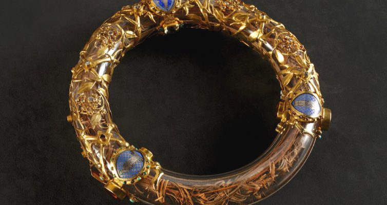 The Crown of Thorns, inside its protective case