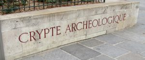 Notre Dame archaeological crypt 1