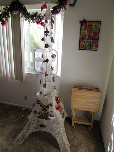 5 Foot White Christmas Tree