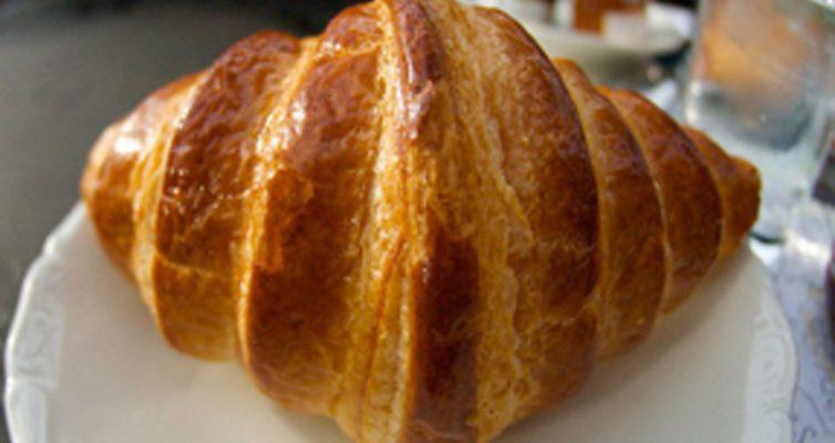 Croissant au beurre 1
